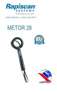 Máy dò kim loại cầm tay Metor 28