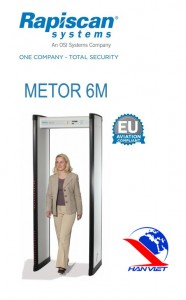Cổng dò kim loại Metor 6M